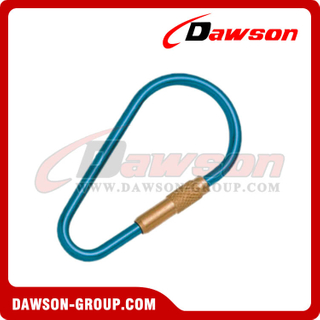 Aluminum Snap Hook with Brass Screw