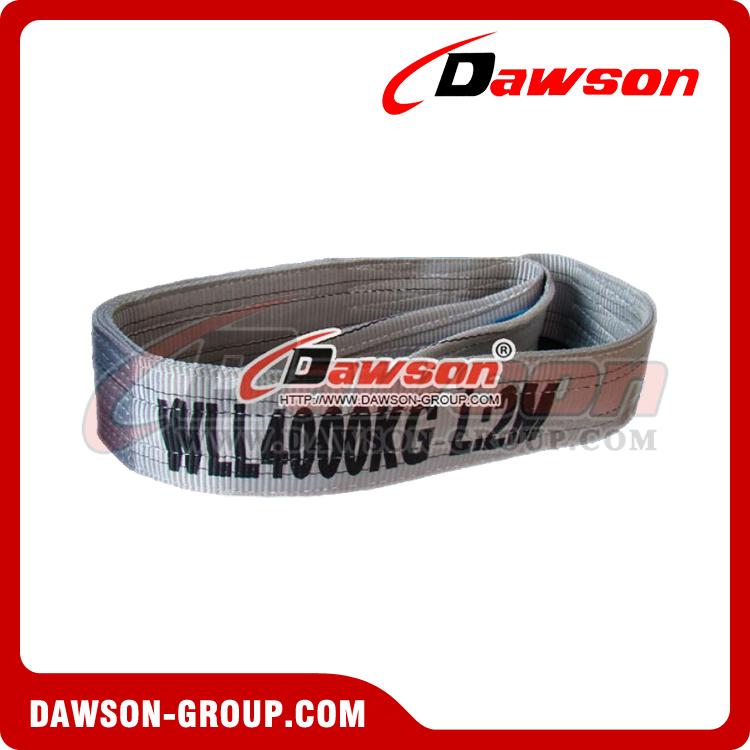 WLL 4 Ton Polyester Webbing Slings, 4000kg Endless Flat Webbing ...