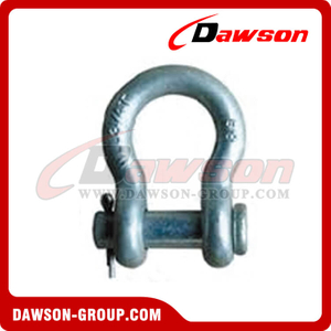 Forged Alloy Bow Shackles with Round Pin