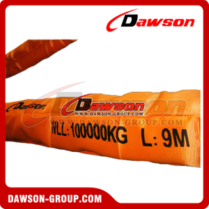 WLL 100T Polyester Round Slings