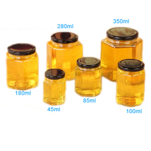 Hexa. Honey Jar