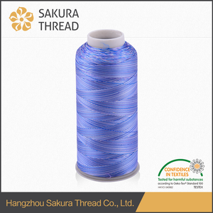 Sakura Muticolored Polyester Thread