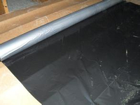 Silver Black Mulch Film