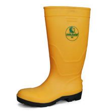 Water Proof Chemical Resistant Steel Toe Unisex PVC Safety Wellington Boots