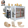 High frequency curved plywood bending foam press machine