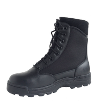 cheap black police tactical boot