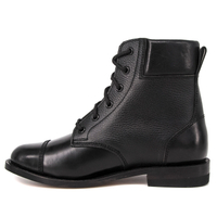 Hiking ankle genuine leather boots 6113