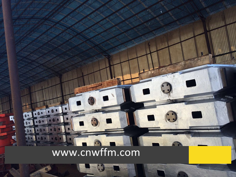 GG25 Automatic Molding Box for High Pressure Casting Moulding Line