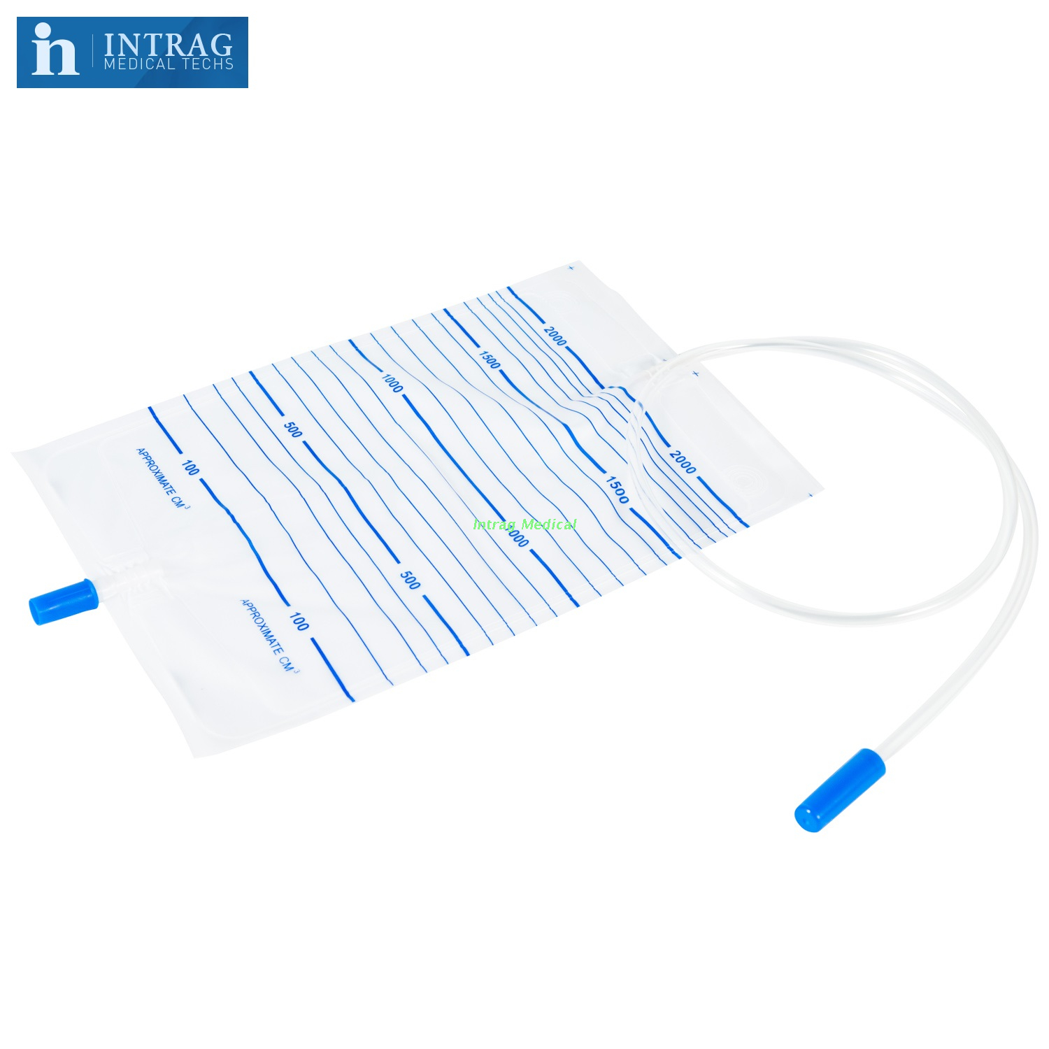 Disposable Urine Bag With Cross Valve