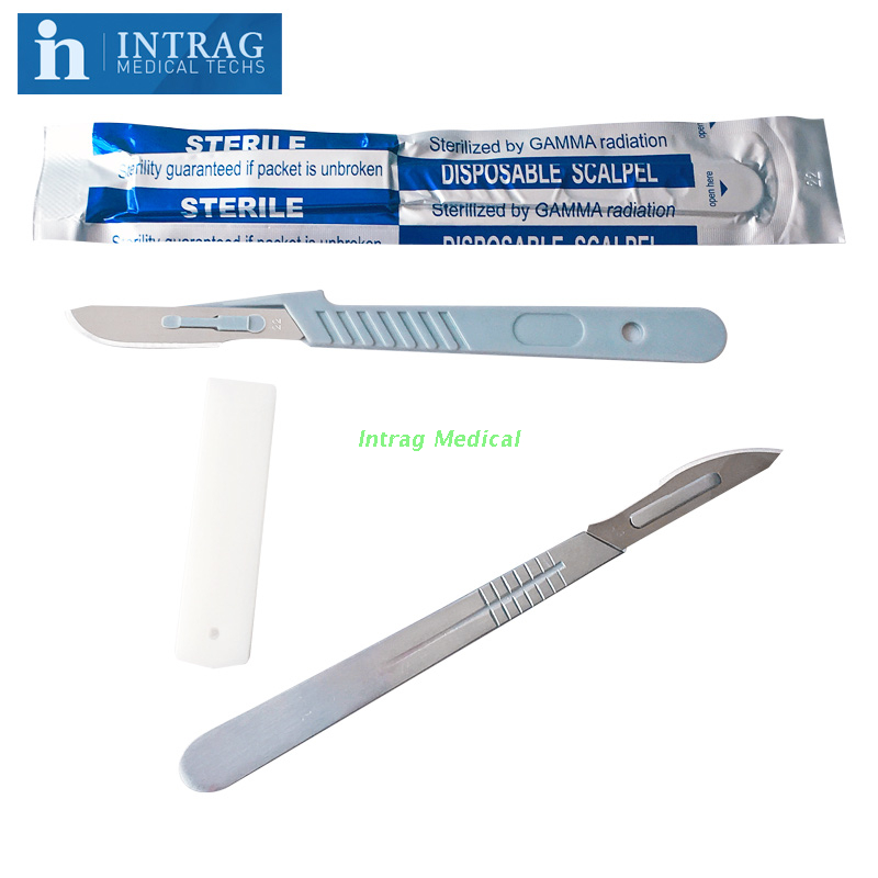 Disposable Carbon Steel Surgical Scapels
