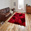 Hand Tufted 3D Shag Carpet Living Room Area Rug