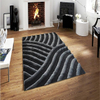 5'×8' Modern 3D Design Carpet Soft Shag Rugs