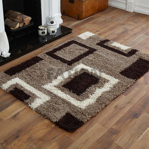 Shaggy Fluffy Area Rugs Dinning Room Carpet