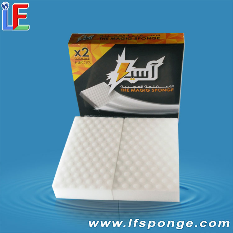 Oem Compressed Magic Melamine Sponge