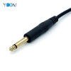 6.5 MM Stereo to 3 RCA Plug Audio Cable