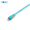 USB Lightning Charging Cable with LED Light, 1m