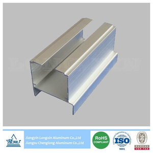 Natural Anodized Aluminum Profile as Rail