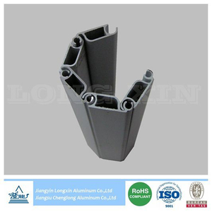 Matt Anodized Aluminium Frame for Roller Shutter