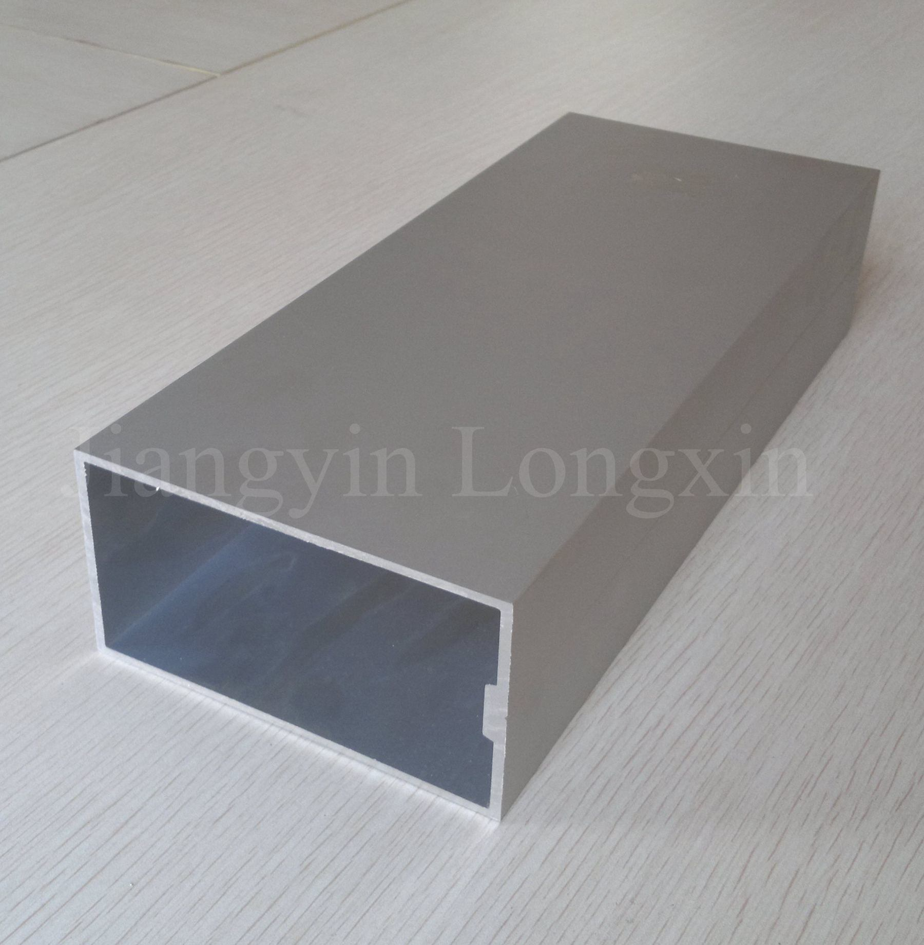 Silver Anodized Aluminum Profile of Curtain Wall