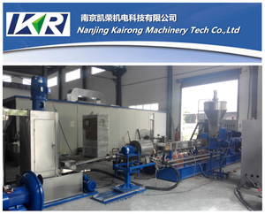 EVA/PA/PES Hot Melt Adhesive Underwater Pelletizer Production Line Plastic Compound Machine