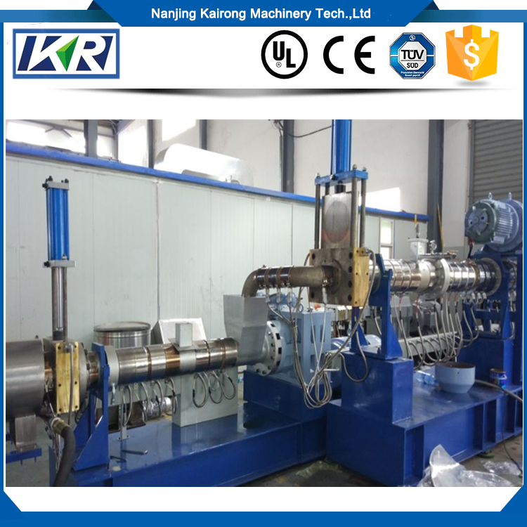 PE PP Recycling Two Stage Single Screw Extruder Extruder
