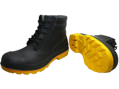 Waterproof and chemical resistant ankle pvc boots