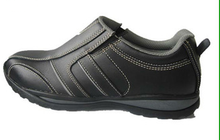 cow leather comfortable safety shoes