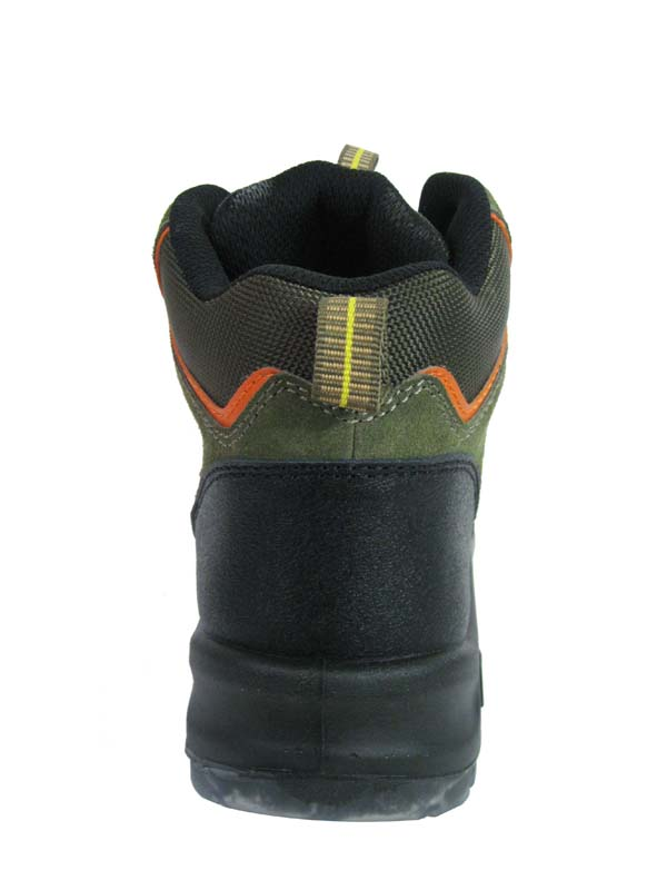 New sports style suede leather sports safety shoes