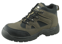 Best selling PU nubuck leather safety shoes factory