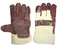 1272 funiture leather cow split cuff working gloves