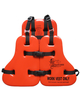 NBR and PVC foam life vest jacket sea horse