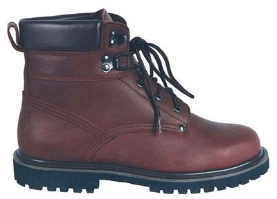 98010B full grain leather safety boots