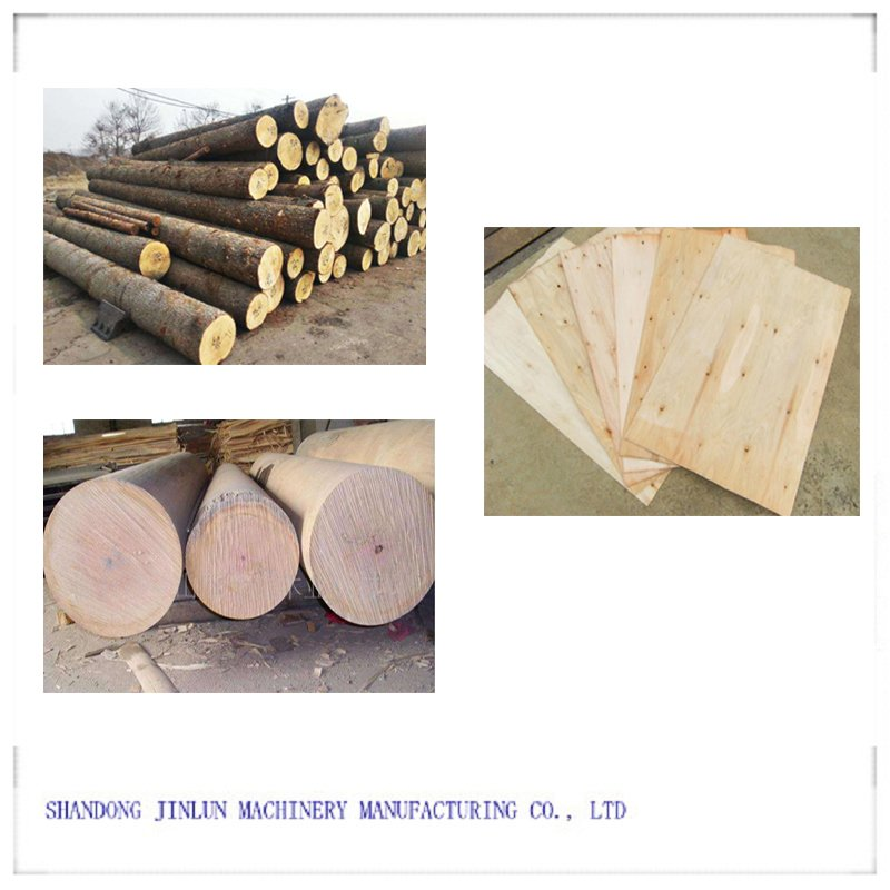 8 Feet Spindle Veneer Peeling Machine