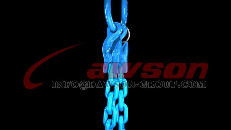 Application of G100 Master Link + G100 Eye Grab Hook with Clevis Attachment × 2 Dawson Group Ltd. - China Factory
