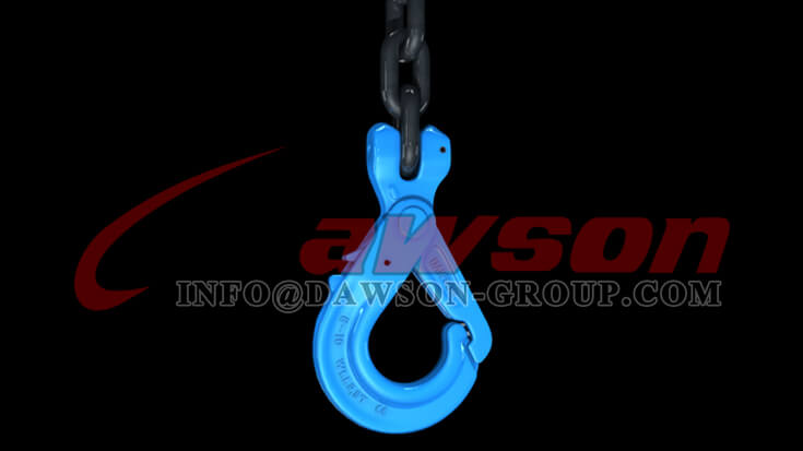 Application of G100 Special Clevis Self-locking Hook with Grip - China Factory