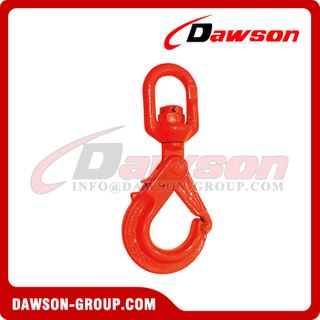 DS772 G80 / Grade 80 Special Swivel Self-Locking Hook