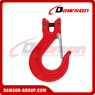 G80 / Grade 80 Clevis Sling Hook with Latch for Lifting Chains