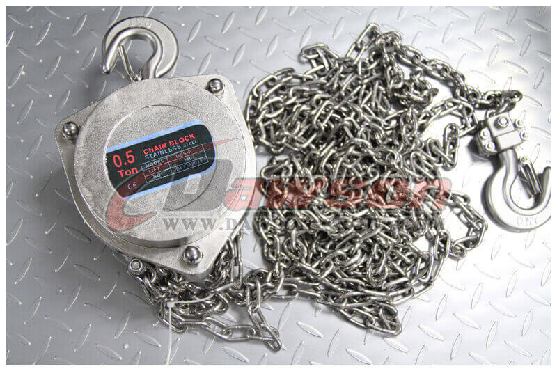 DSS-F stainless steel chain block - China Supplier