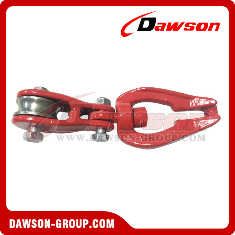 DS930 G80 Swivel Connecor with Roller Sheave for Forestry Logging - China Supplier