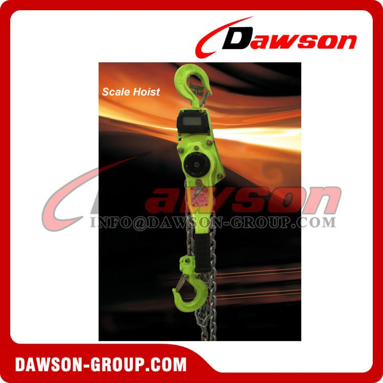 Crane Scale Lever Hoist with Display for 1Ton and 2Ton - Dawson Group Ltd. - China Factory