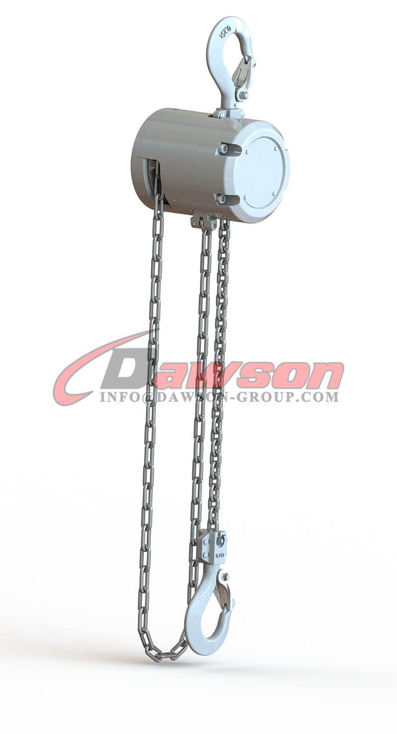 250KG Mini Aluminum Alloy Chain Hoist, Chain Block - Dawson Group Ltd. - China Factory