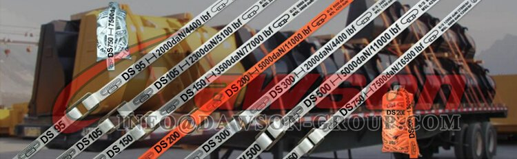 Application of Polyester Woven Cord Lash Strapping - Dawson Group Ltd. - China Supplier