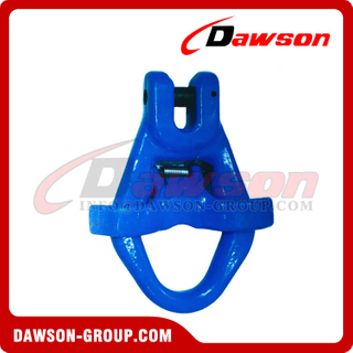 G100 / Grade 100 Clevis Master Link with Latch Bolt for Container Lifting