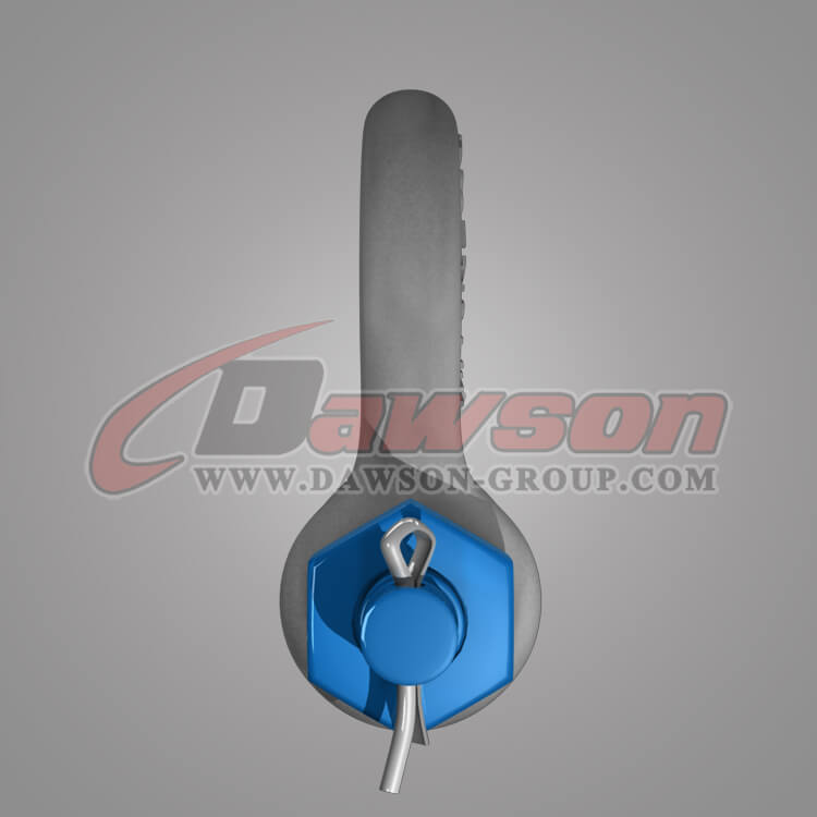 Dawson Brand Hot Dip Galvanized US Type Bow Shackle with Safety Pin, G2130 Anchor Shackle - China Factory