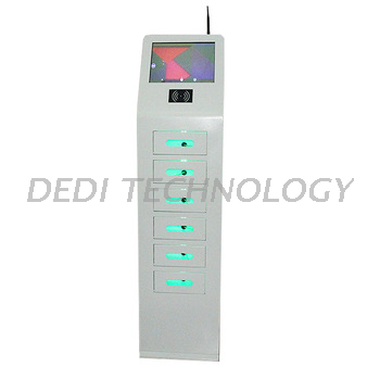 Dedi Outdoor screen advertising ordering kiosk phone charged station charging kiosk