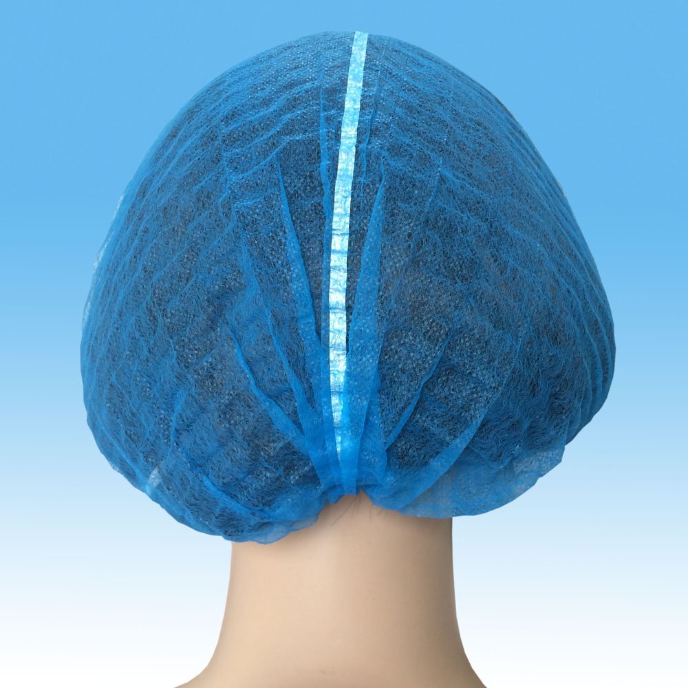 Disposable Nonwoven Nurse Cap, Mob Cap
