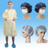 Disposable Isolation Gown,SBPP Isolation Gown with Short Sleeves
