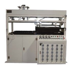 Small Semi-Automatic Plastic Sheet Vacuum Thermoforming Machine for Egg Tray Clamshell Packing