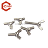 m10 stainless steel wing bolt valve