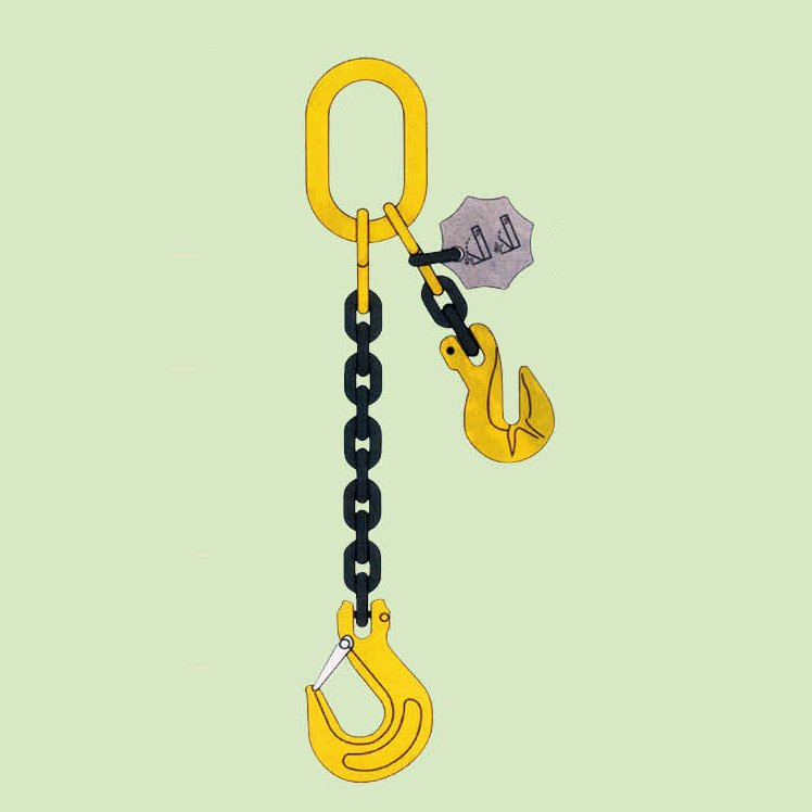 CHAIN SLING SINGLE LET